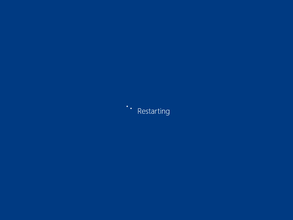 how to stop windows 10 from restarting