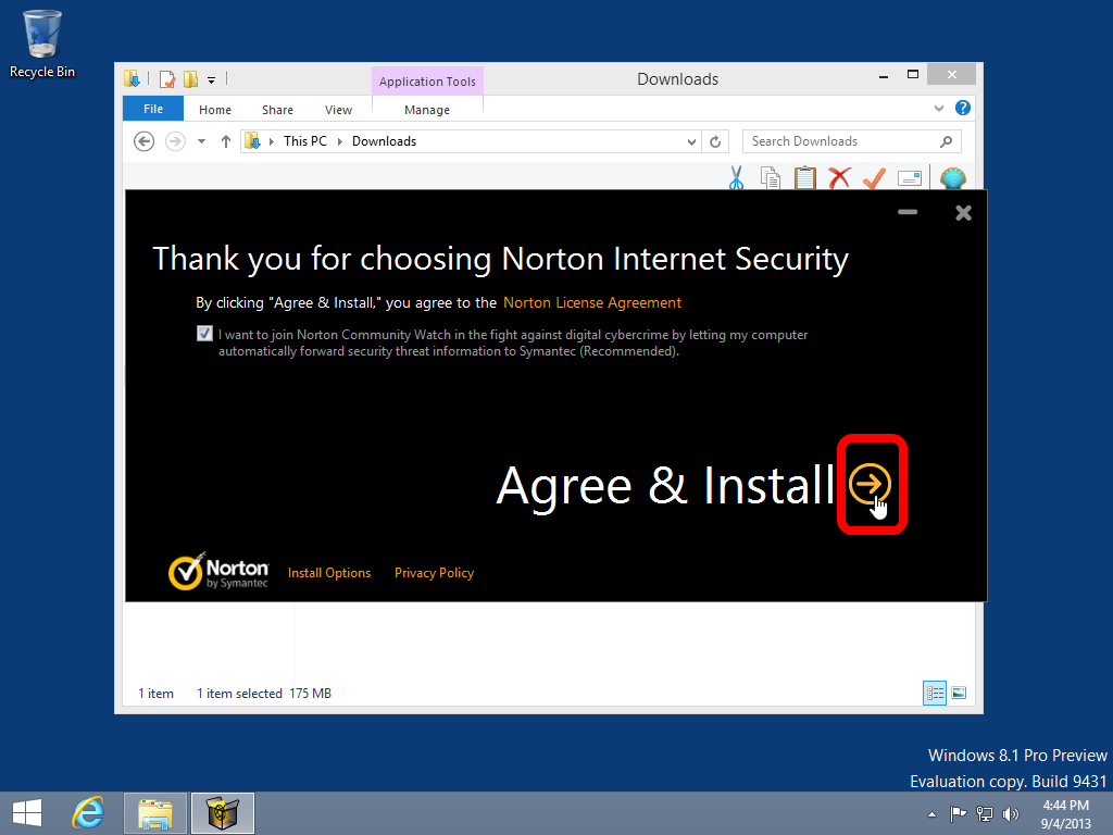 how to download norton internet security