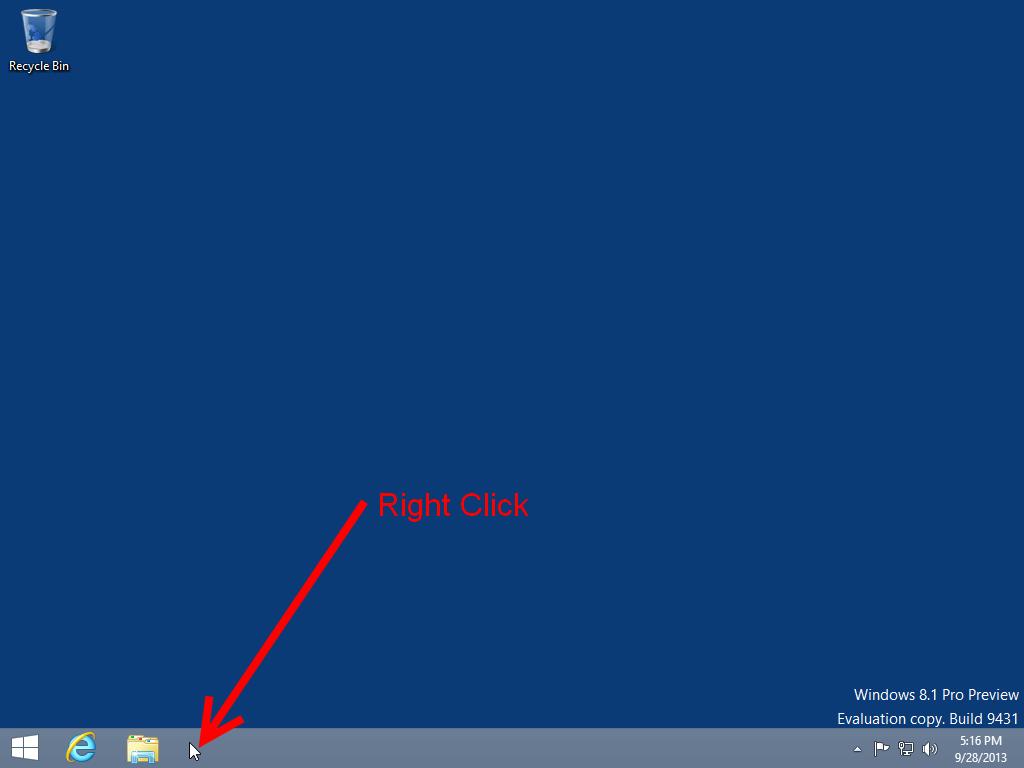 Windows 8 desktop mode