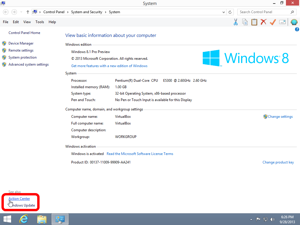Typical Features Required of a Windows 8.1 Antivirus Solution