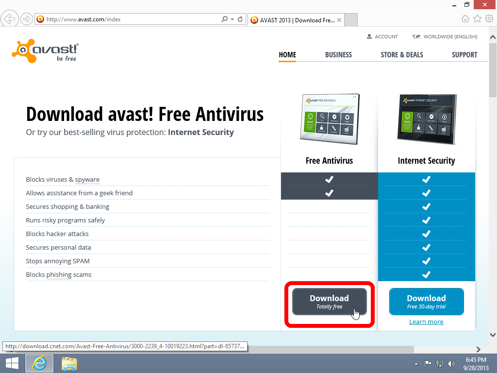 How To Install Avast Free Antivirus | Windows 8.1/10 Guides