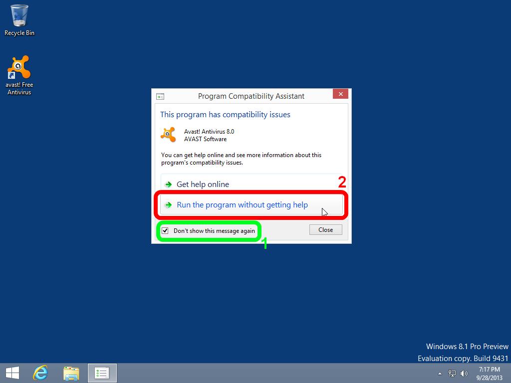 Antivirus for Windows