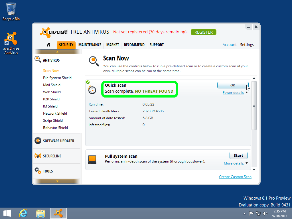 Protect your Windows 8 PC with Comodo