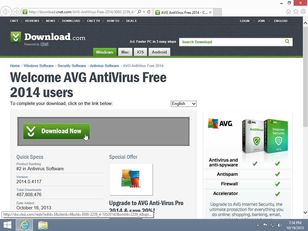 How to install avg antivirus free edition windows 8 1 10 Online antivirus download