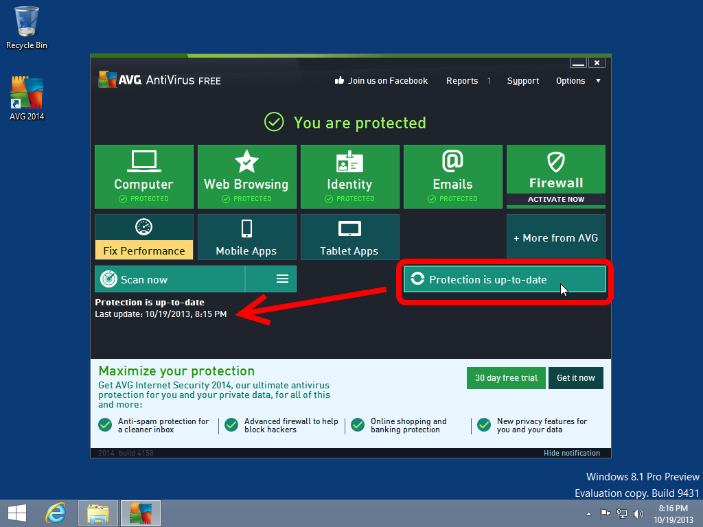Windows 8 Virus Removal