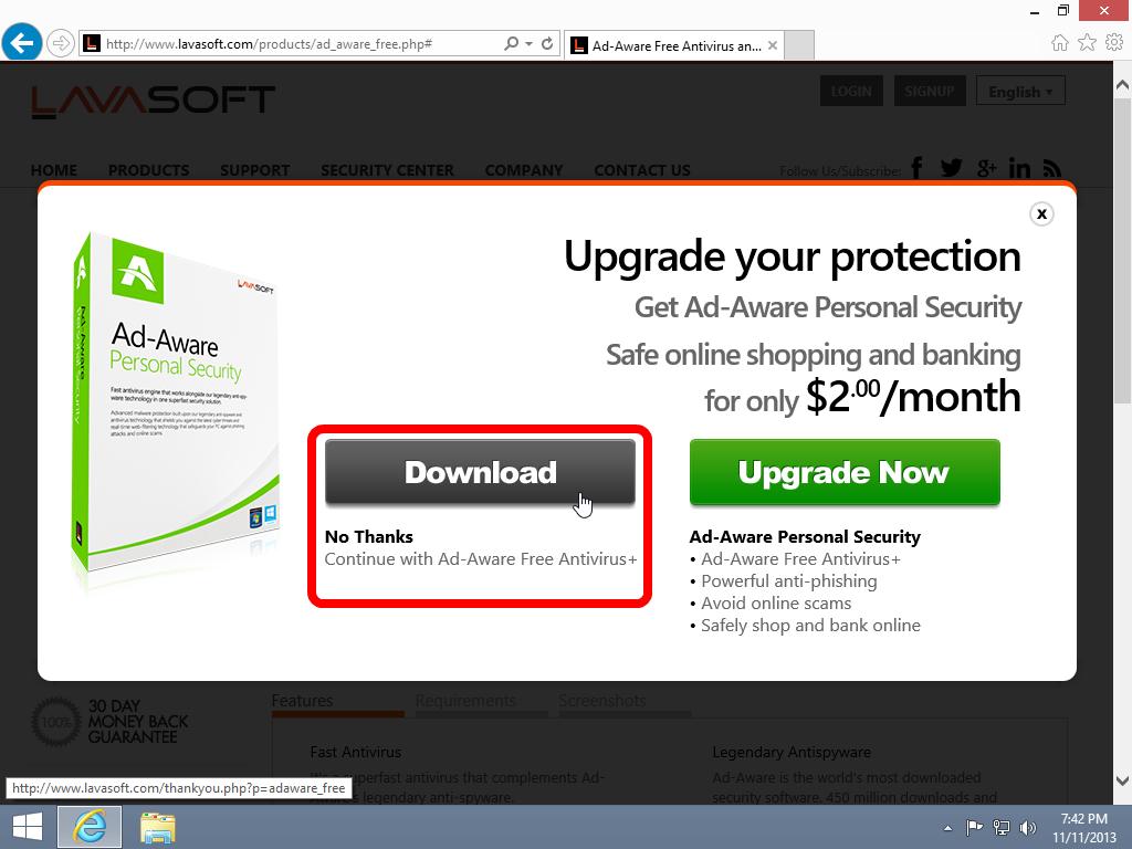 Adaware The Best FREE Antivirus & ad block