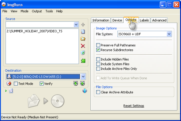 how to make dvd from vob files